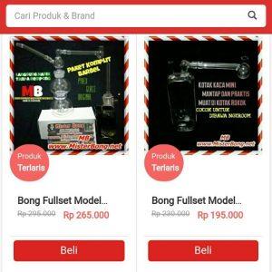 Distributor Penjualan Bong Kaca Dan Cangklong Kaca Pyrex Online Terpercaya